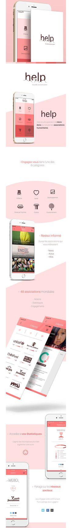 Mobile App / Flat Design