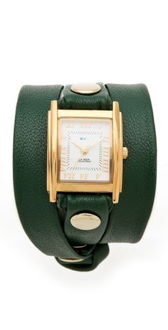 simple wrap watch / la mer