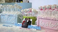 baby shower cake pops