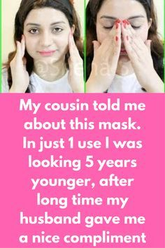 My cousin told me about this mask. In just 1 use I was looking 5 years younger, after long time my husband gave me a nice compliment Reverse the signs of skin aging and makes the skin look 5 years younger IN JUST 3 DAYS.These 2 NATURAL SKIN CARE STEPS are designed to boost collagen production, smooth fine lines, wrinkles, crows feet and tighten loose and sagging skin.Follow these remedies regularly for 3 DAYS and reveal younger, smoother, firm and glowing skin. …