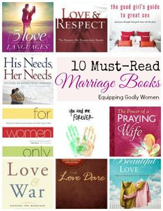 If you haven't read these Christian marriage books--you are missing out! Great list!