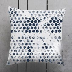 abstract polka dot pillow cover