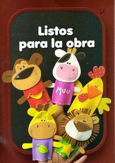 Mimin baby: dedonhes de EVA- os pequenos amammmmmmm - finger puppets pattern (L*) Felt Puppets, Felt Finger Puppets, Hand Puppets, Kids Crafts, Foam Crafts, Crafts To Make, Mini E, Finger Puppet Patterns, Pencil Toppers