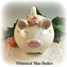 Whimsical Bliss Studios - This Little Piggy Bank