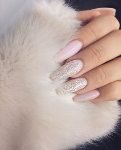 In search for some nail designs and ideas for the nails? Here is our list of 28 must-try coffin acrylic nails for stylish women. Gorgeous Nails, Love Nails, Pretty Nails, My Nails, Bling Nails, Fingernails Painted, Bling Bling, Prom Nails, Wedding Nails