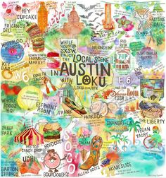 The many things to do in Austin!