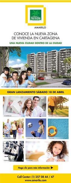 #NOVOCLICK esta con #Amarilo #Cartagena #ParqueHeredia