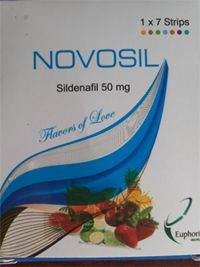 www.overthcounterr.com/product/Novosil - Novosil 50mg attempts to treat erectile brokenness in man. It relieves the veins muscles to raise the stream of blood in penis to hold the erection. It rouses the sexual action and keeps up erection suitable for sexual movement.
