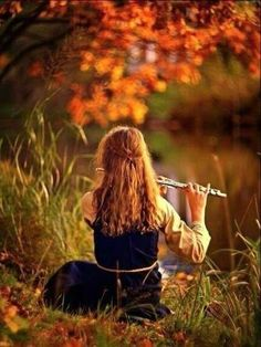 """medieval-woman: """"Flute by NovembRedFox """" Band Senior Pictures, Senior Photos, Musician Photography, Photography Poses, Experimental Music, Jolie Photo, Narnia, Art Music, Music Is Life"""