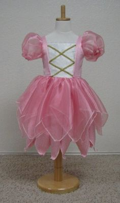 Cute pink fairy princess costume made by Enchanted Kingdom