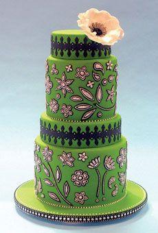 HOLY CRAP!!!!! $235 per slice?!?!?!  Brides Magazine: Outstanding Wedding Cake Designs