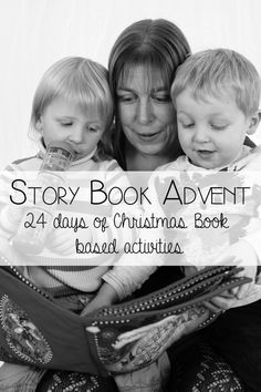 Story Book Advent - 24 days of Christmas Book Based Activities for Kids
