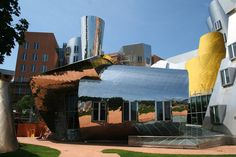 Massachusetts Institute of Technology - MIT - Stata Center Outside Boston Architecture, University Architecture, Massachusetts Institute Of Technology, Art Director, Marina Bay Sands, Creative Art, Cambridge, United States, Digital