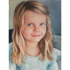 A portrait commission in oils. 25x35cm