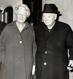 Prime Minister Winston Churchill left worth nearly million today, to his wife Clementine in Uk History, British History, American History, Winston Churchill, Clementine Churchill, Florence Nightingale, British Prime Ministers, Historical Pictures, Special People