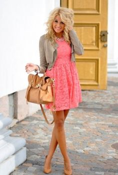 summer work dresses | 32 Cool Summer Work Outfits For Girls
