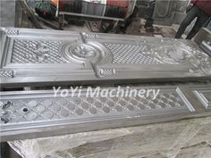 Steel door mould, metal door stamping die, Sudan steel door designs - Door Molding, The Doors, Embossing Machine, Door Design, Stamping, Steel, Frame, Pattern, Molde