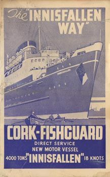 City of Cork Steam Packet Co. Vintage Advertising Posters, Vintage Advertisements, Holiday Posters, Images Of Ireland, Travel Posters, Motor, Dublin, Old Photos, Cork