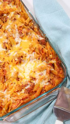 Make this easy dinner recipe.Lasagna Bake with Penne Pasta. Dinner can be ready and on the table in 30 minutes. Easier than a traditional Lasagna Recipe. Italian Recipes, Beef Recipes, Cooking Recipes, Easy Dinner Recipes, Easy Meals, Good Food, Yummy Food, Casserole Recipes, Rice Casserole