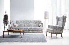 Zestaw wypoczynkowy Mobilio dostępny również w hiszpańskich tkaninach Aquaclean.