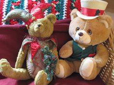 Christmas Bears .. Two Friends