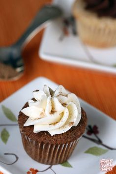 Chai cupcakes! Can't wait for christmas baking!