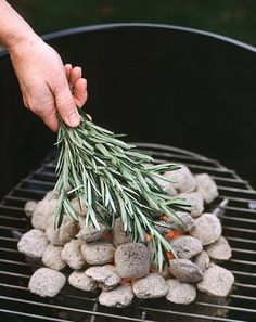 Just make sure the coals are totally gray and ashy before you make your move.
