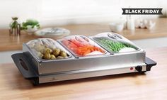 Groupon - Buffet Server and Warming Tray from £24.98 With Free Delivery. Groupon deal price: £29.99