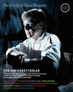 The New York Times Magazine with Robert Redford (01 December 2013)