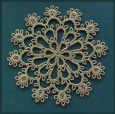 Tatting 72 - Snowflake Tatting Designs by Murphys Designs