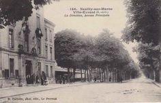 La clinica di Ville Evrard alle porte di Parigi dove Camille è stata ricoverata nel 1913 in una cartolina di inizio '900.