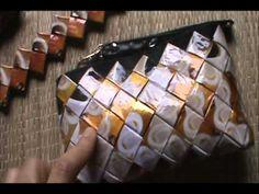 Acabamento da bolsa feito a mão,reciclagem emb. café - YouTube