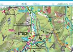 Mapa Vysokých Tatier PL-SK · Map of High Tatras PL - SK (1:25000)