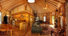 Floyd Yurt Lodging