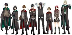 if harry potter was an anime