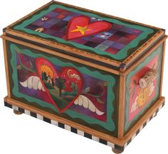 """Home storage chest, without drawer.  Dimensions: 35""""W 22.5""""D 24""""H"""