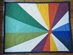 hot air balloon quilt - for Liam's bed...when I let him sleep with a bedspread.