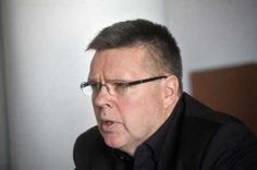 Jari Aarnio, former head of the Helsinki drug squad, is on trial for 29 charges of drug dealing and corruption. He was arrested in Helsinki, Finland, Squad, Drugs, Face, The Face, Faces, Classroom, Facial