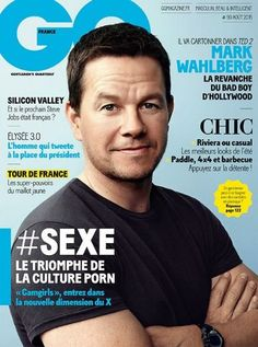 Mark Wahlberg - GQ Magazine Cover [France] (August 2015)