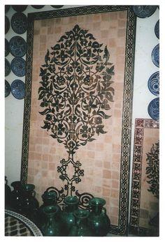 mosaico de marruecos por decoración de paredes