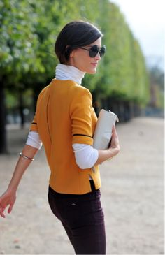 chic turtleneck