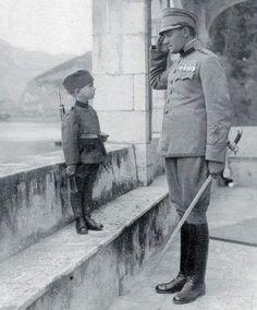 Momčilo Gabrić, Serbia youngest soldier of WW1