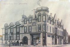 Early postcard of the Caledonian Club early Old And New, Norman, Notre Dame, South Africa, Club, School, House, Haus, Schools