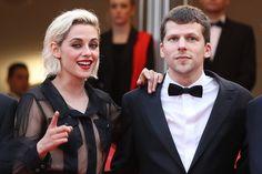 Pin for Later: Die besten Schnappschüsse vom Filmfest in Cannes Kristen Stewart und Jesse Eisenberg