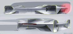 Mercedes-Benz Lightweight X-Y-Z concept series by Jiye Shin