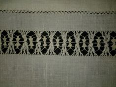 Trim on table cloth