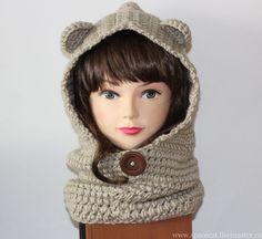 Капюшон шарф (шлем, башлык) с
