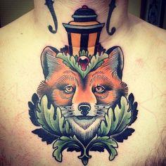 Sick chest tattoo. #tattoo #tattoos #ink