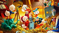 Disney has announced plans to re-launch #DuckTales. Description from seen.co. I searched for this on bing.com/images