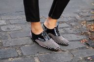 cool Studded oxfords